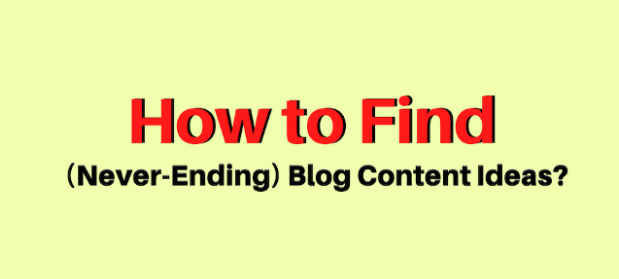 How to find great blog contents