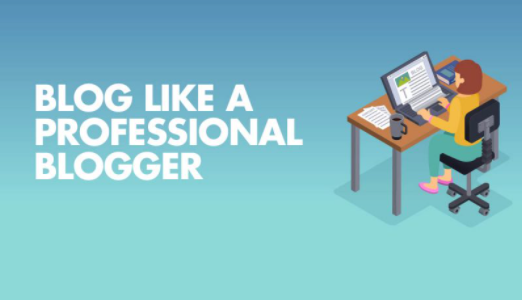 How to make a professional blog?