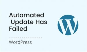 An automated WordPress update has failed to complete - please attempt the update again now